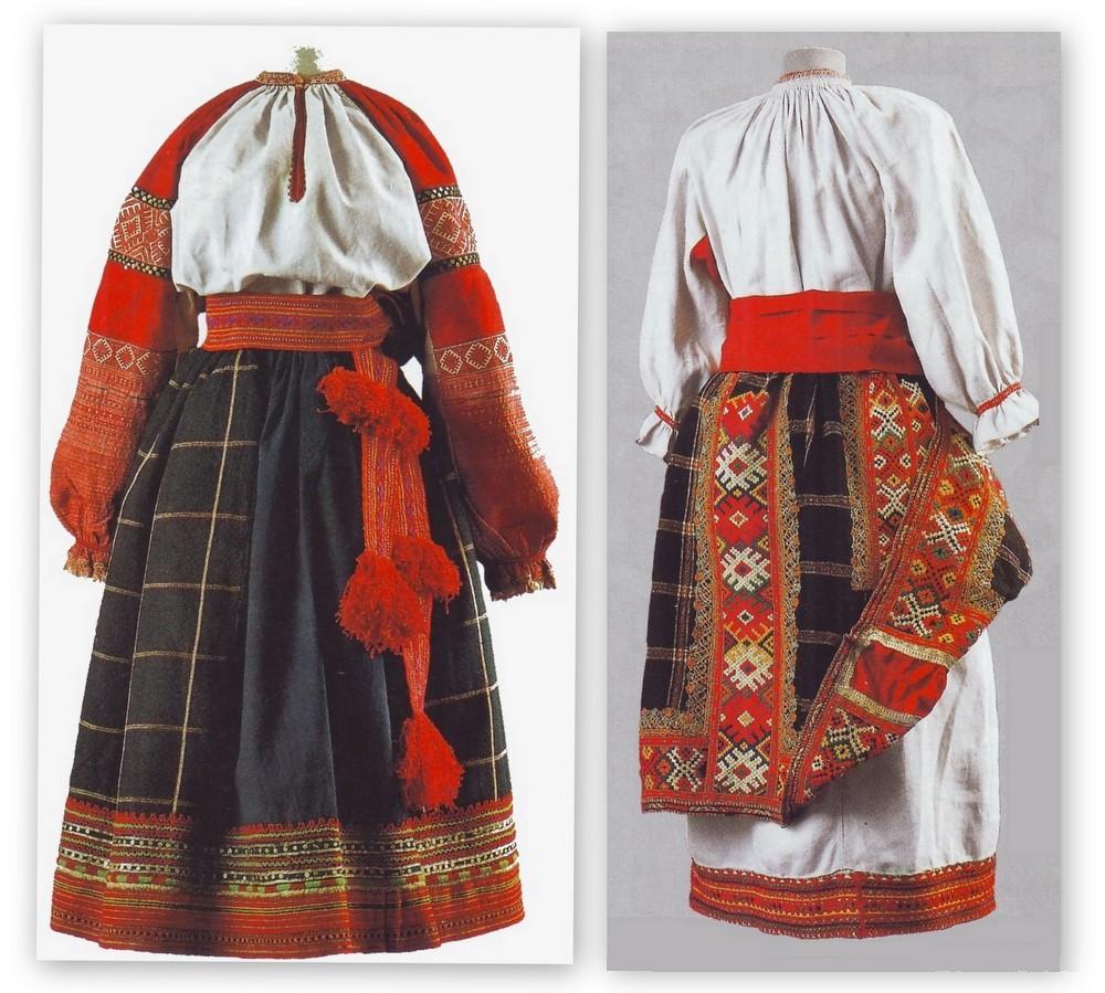 Понёва - это элемент русского народного костюма, женская юбка из нескольких кусков ткани :: syl.ru