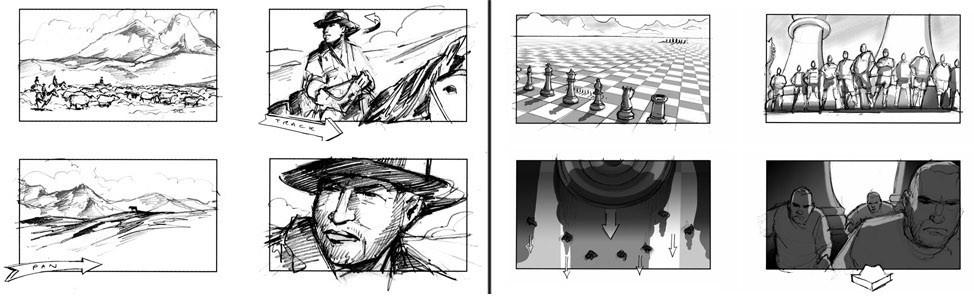 Как создать эскизы раскадровок: базовое руководство для начинающих художников