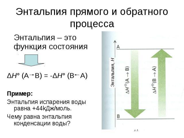 Урок 19. изменение энтальпии – himi4ka