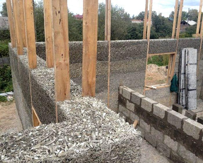 Дом из арболита своими руками: технологии строительства
