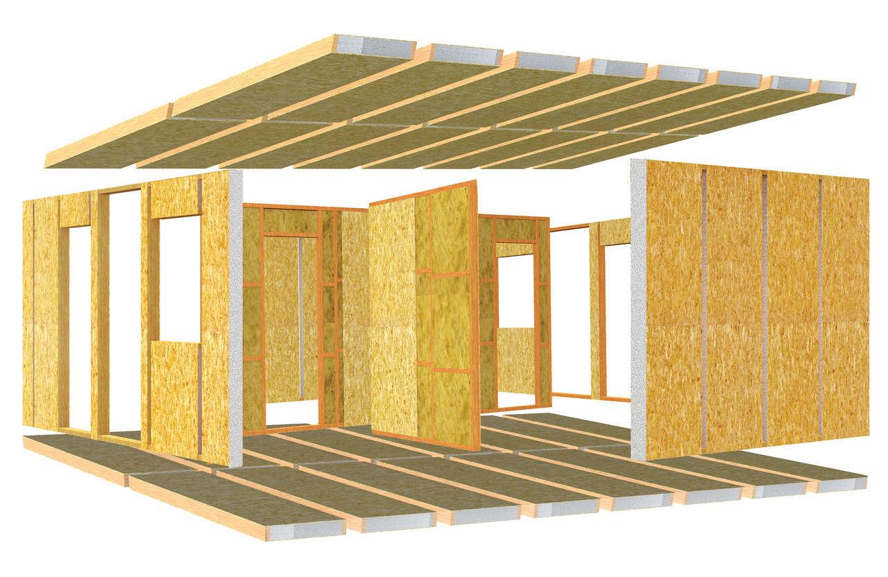 Дома из sip-панелей: основные недостатки и проблемные моменты при строительстве