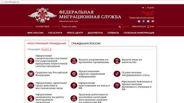 Уфмс россии. сервисы, справка, отделения, вопросы и ответы