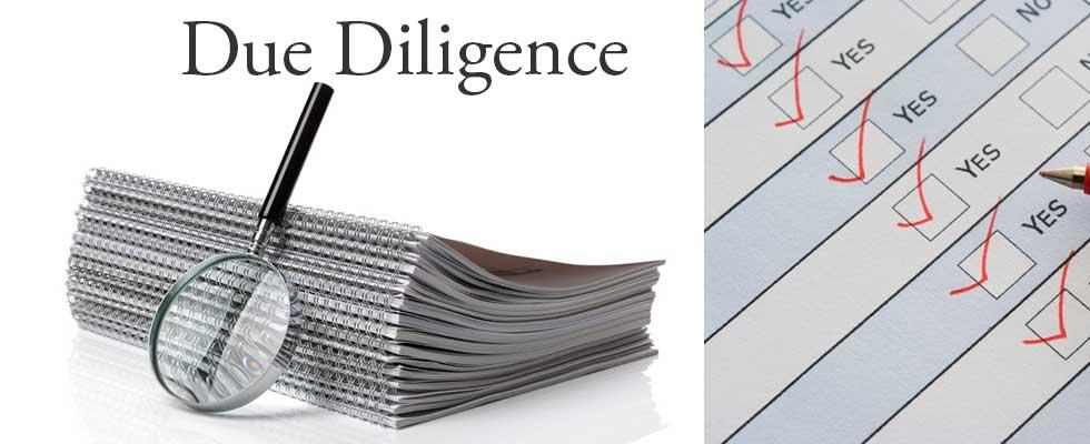 Due diligence – проверка на благонадежность