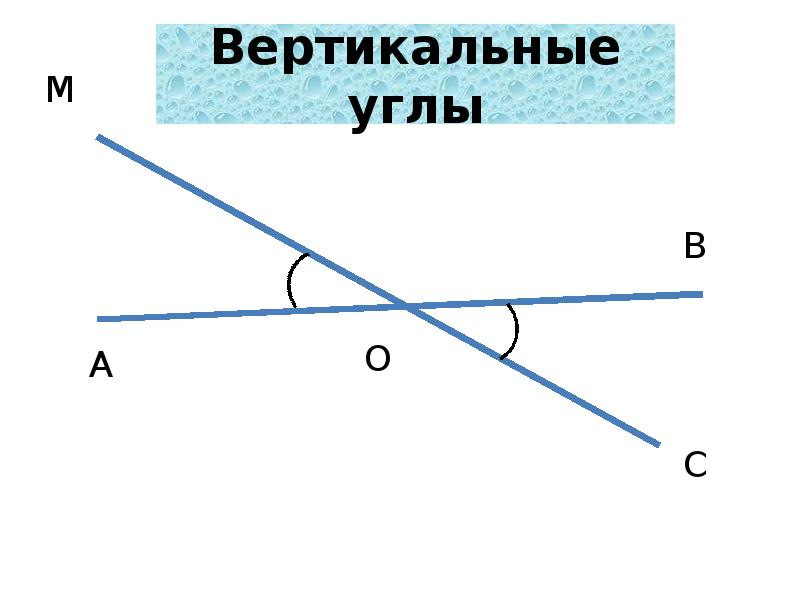 Вертикальные углы википедия
