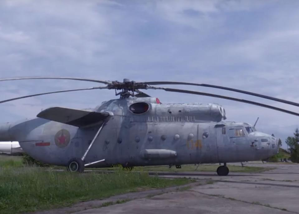 Штаб фронта  уходит в небо: воздушные командные пункты миль ми-6а вкп, ми-6ая (ми-22) и ми-27