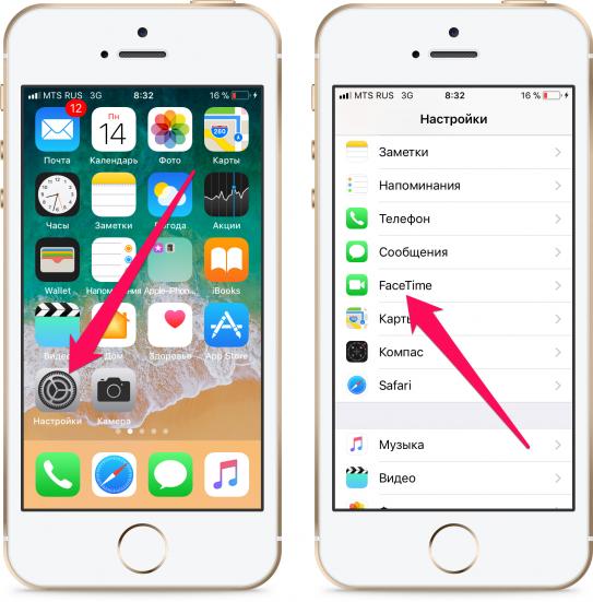 Как пользоваться facetime на гаджетах компании apple
