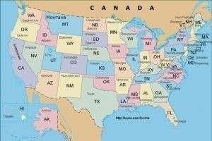 Штаты сша - полный список и история возникновения