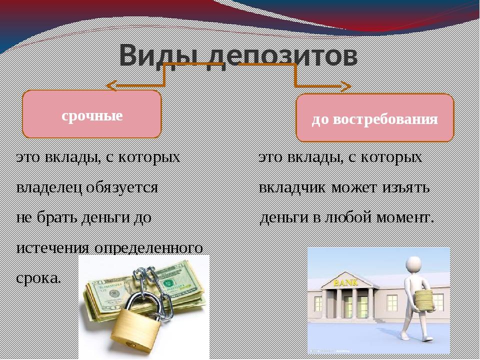 Депозит от банка простыми словами - школа инвестора.