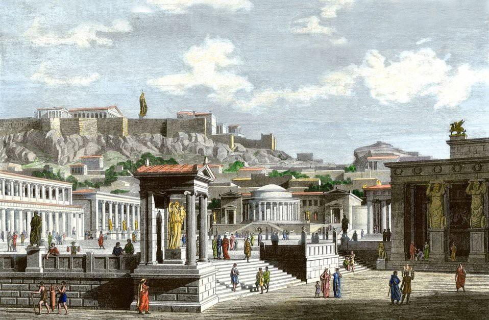 Главное условие гражданства в полисе в древней греции - все по закону