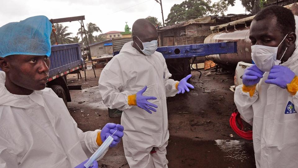 Геморрагическая лихорадка эбола