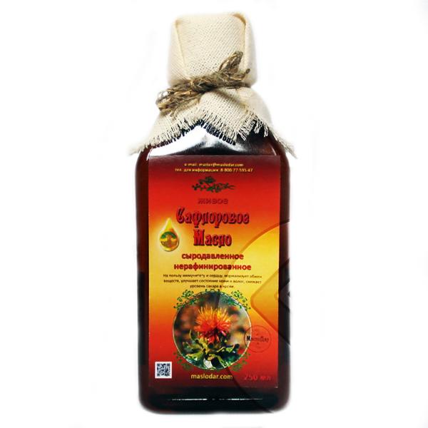 Сафлоровое масло — полезные свойства и противопоказания