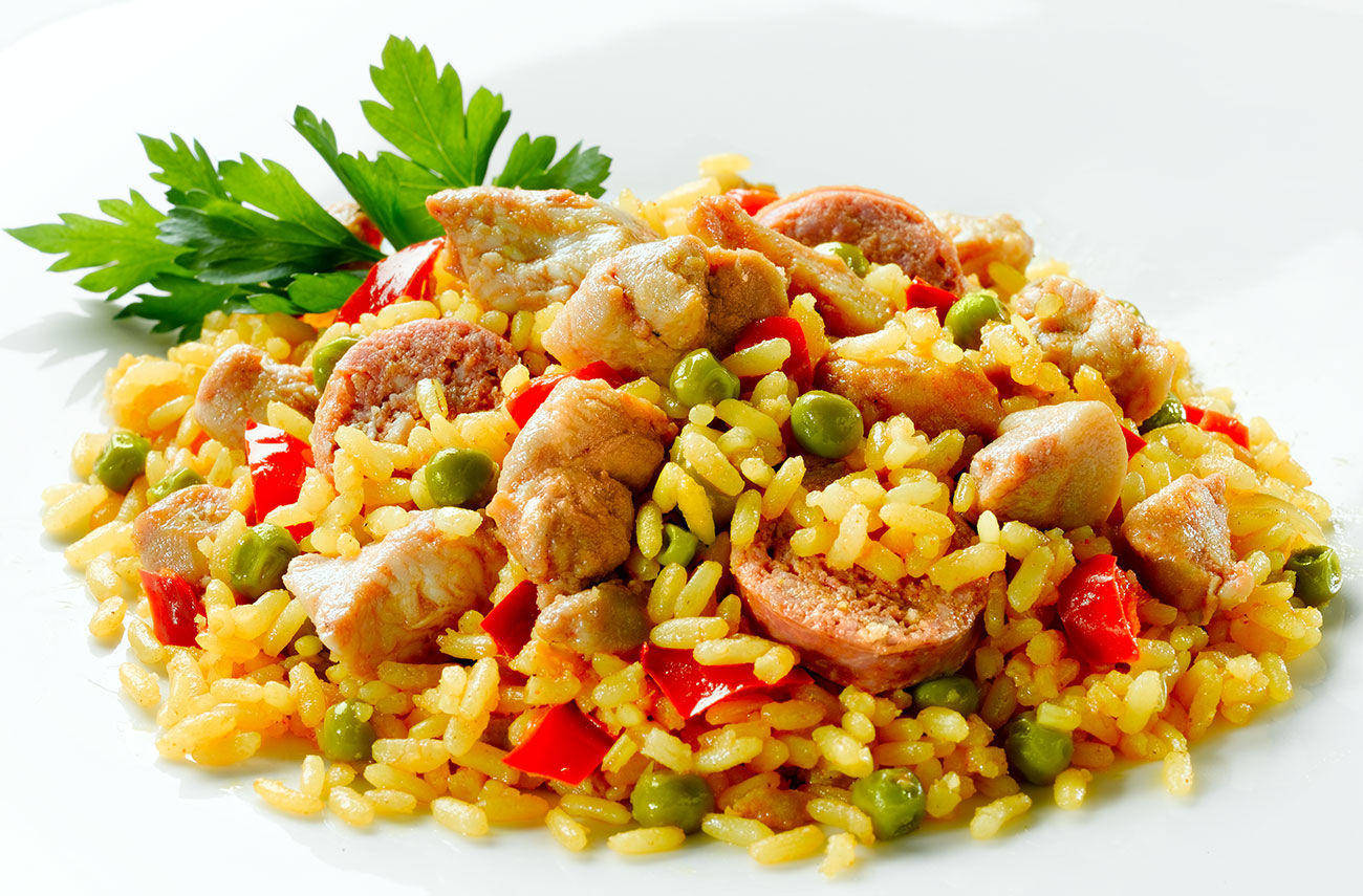 """Паэлья """"мариско"""" – кулинарный рецепт"""