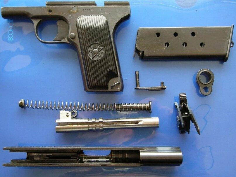 Пистолет тт образца 1930 года, пистолет тт образца 1933 года, модификации и различия пистолетов тт