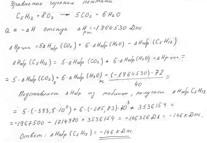 Стандартная энтальпия образования - standard enthalpy of formation