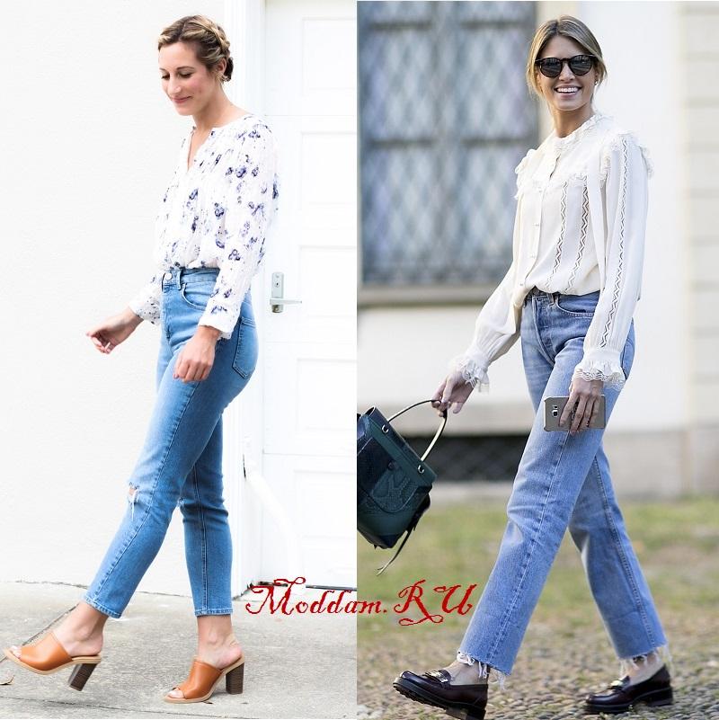 Оригинальные джинсы мом (mom jeans): кому идут и с чем носить