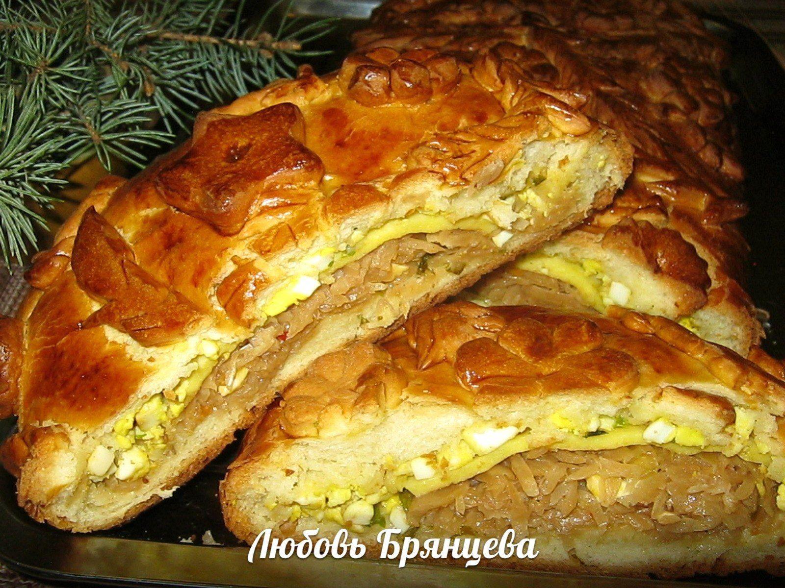 Кулебяка - пошаговые рецепты приготовления теста и начинки с фото