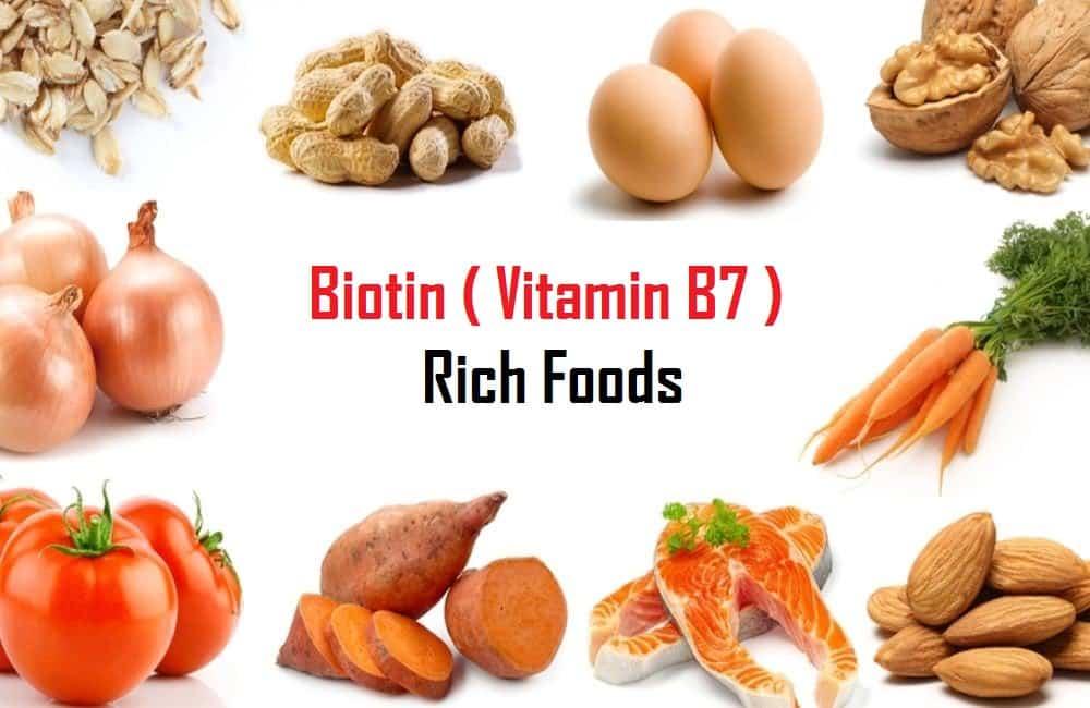 Биотин (витамин в7, h) как принимать, в каких продуктах содержится