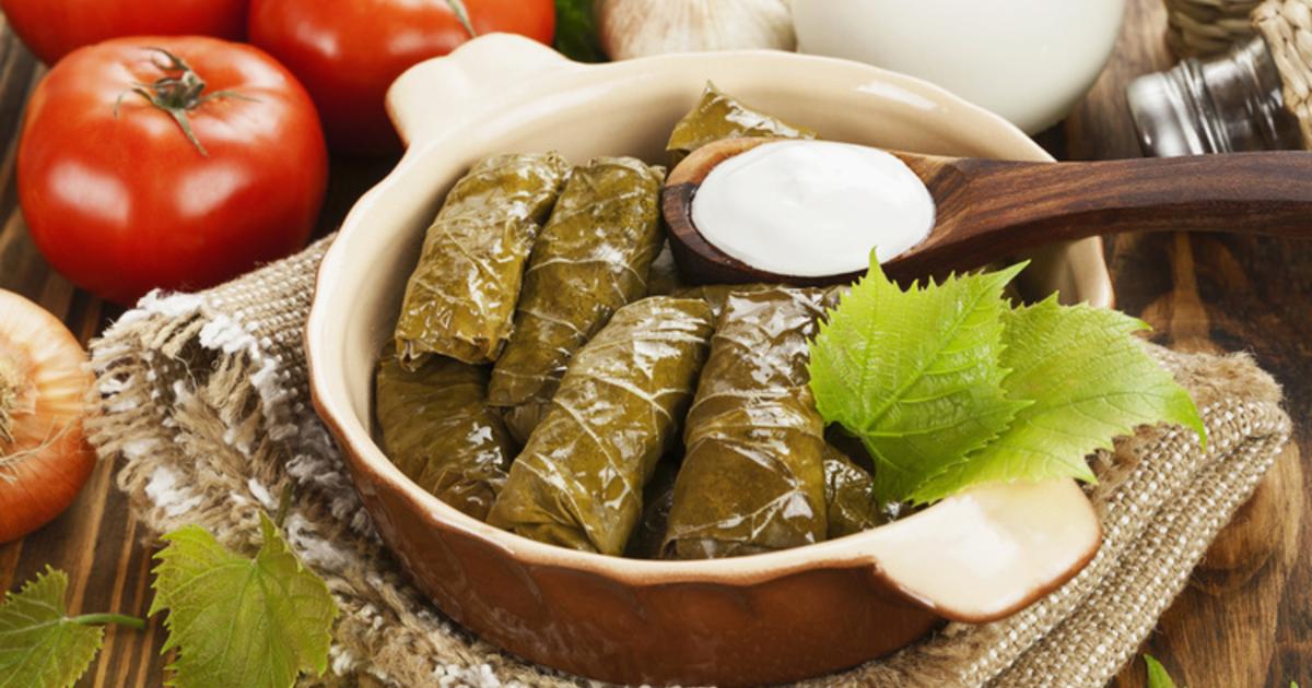 Что такое долма - пошаговые рецепты приготовления из свежих, маринованных или соленых виноградных листьев