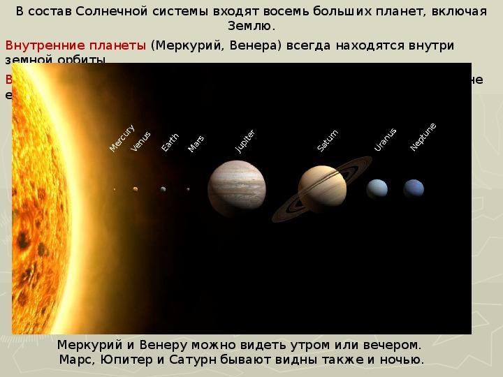 Урок 17. конфигурации и условия видимости планет | контент-платформа pandia.ru