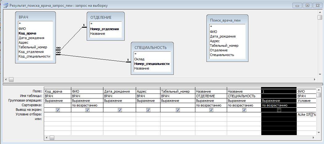 Вычисляемые поля в запросах access - базы данных access