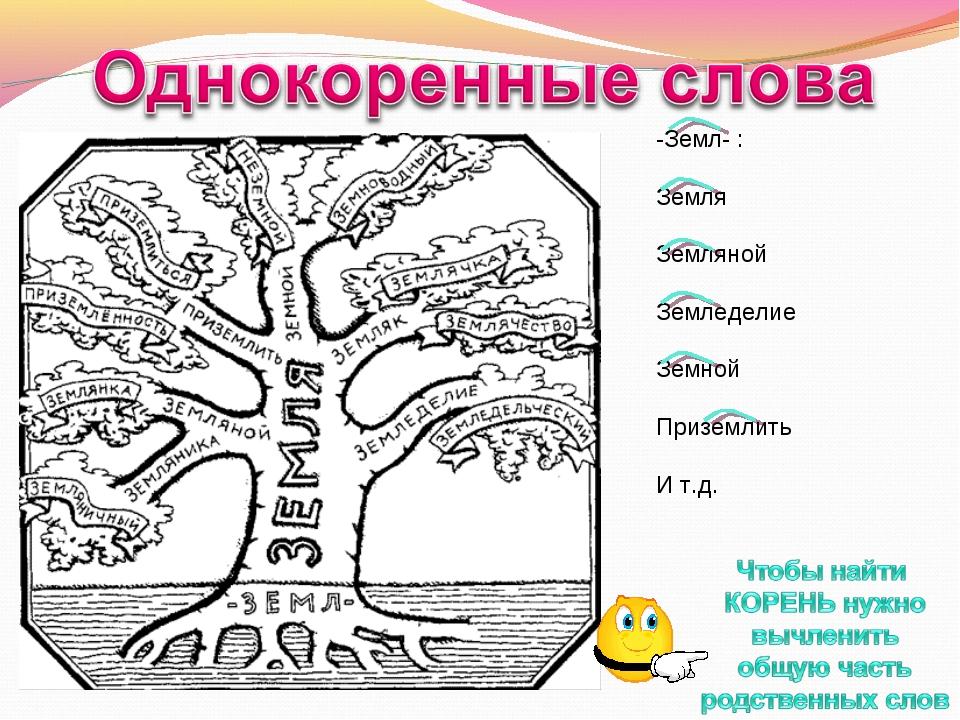 Слова без корня в русском языке (50 примеров)