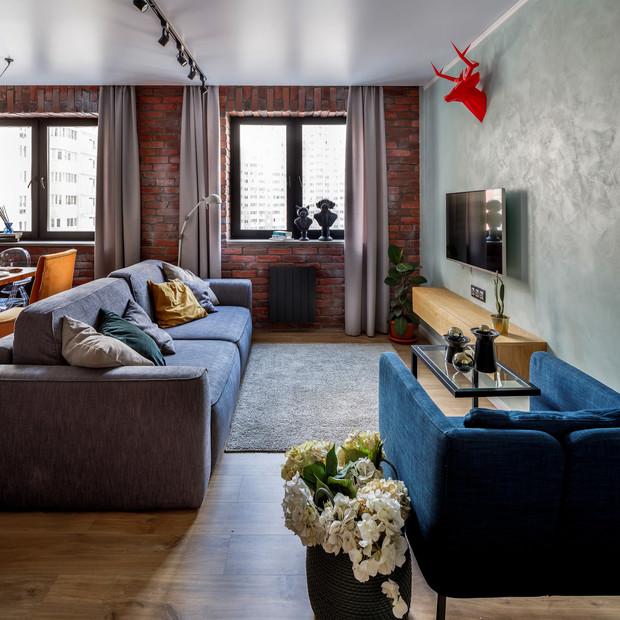 Дизайн интерьера в стиле лофт— пошаговое воплощение