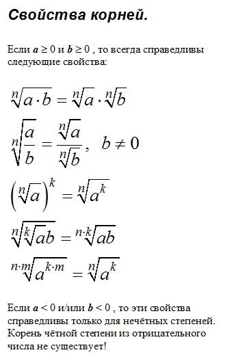 Корень (математика) — википедия с видео // wiki 2