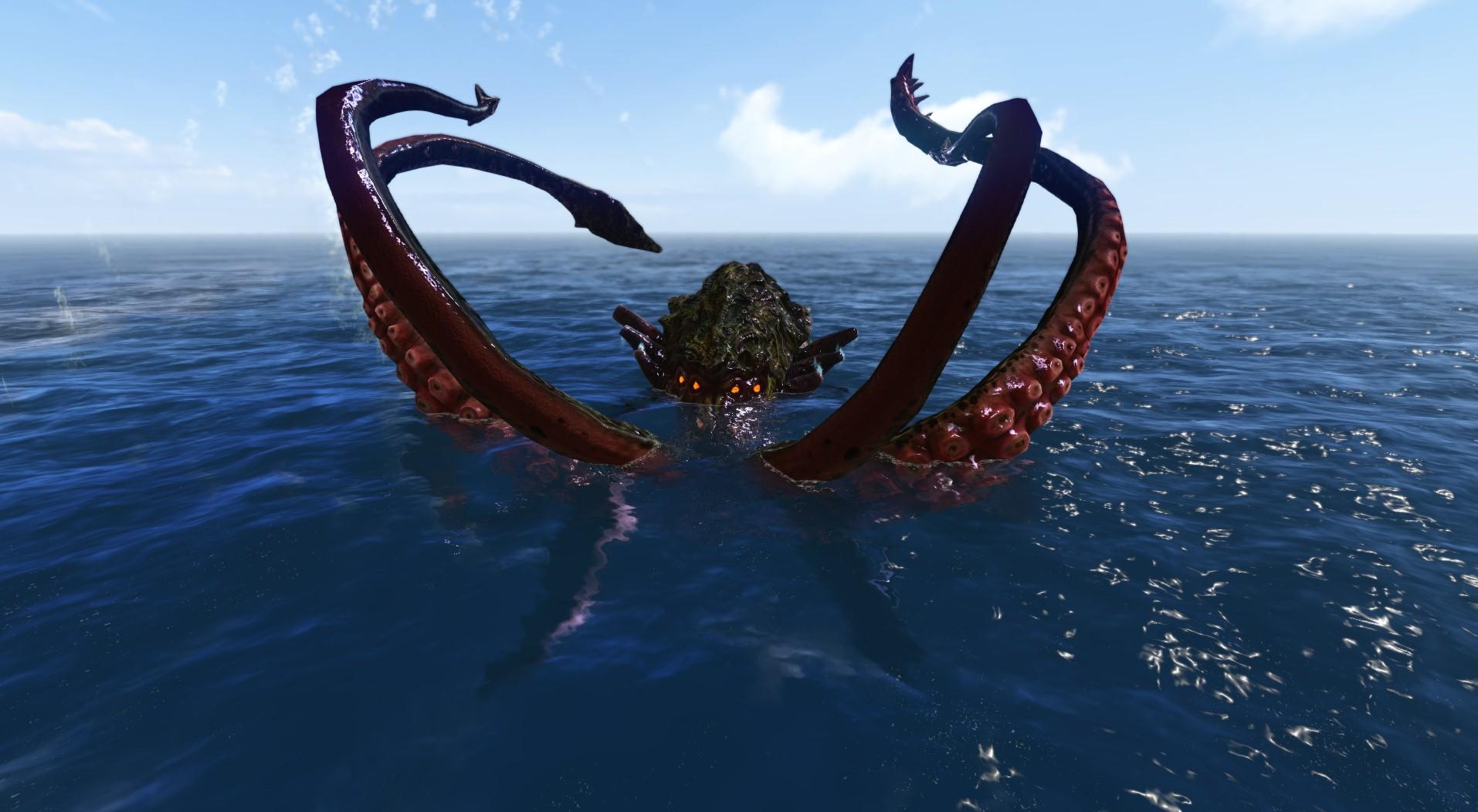 Кракен - ужас из морских глубин