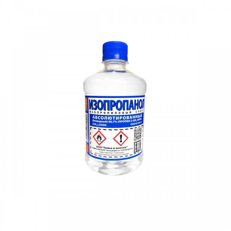 Что такое изопропанол (изопропиловый спирт): состав и формула