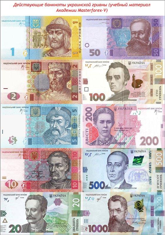 Гривна, история и курс гривны на сегодня, котировки валюты украины к рублю и доллару