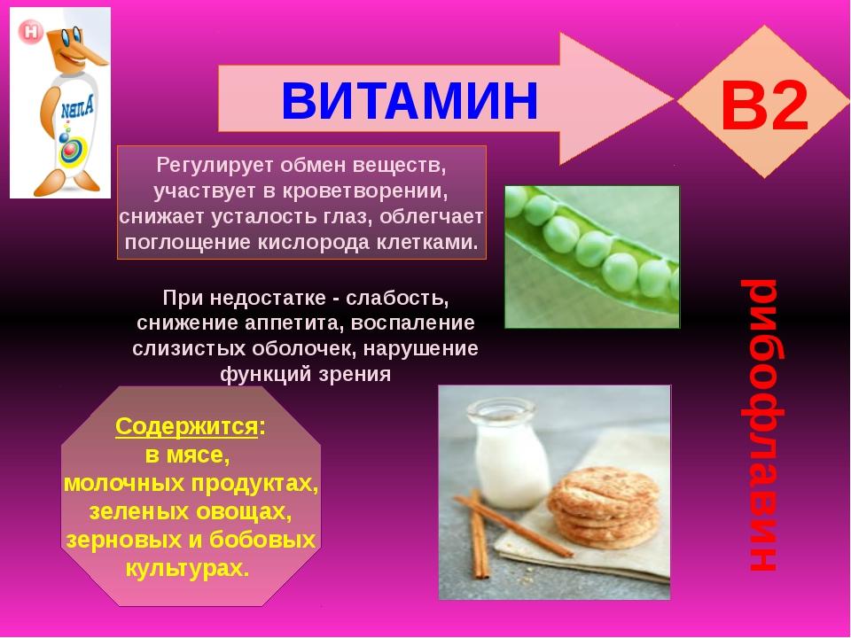 Рибофлавин (в2): инструкция по применению, где содержится больше всего, для чего нужен, комплексы