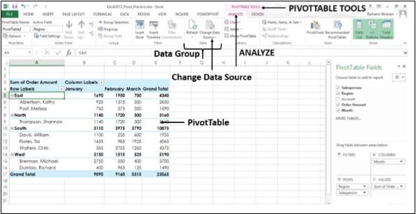 Как работать со сводными таблицами в excel (с примерами)