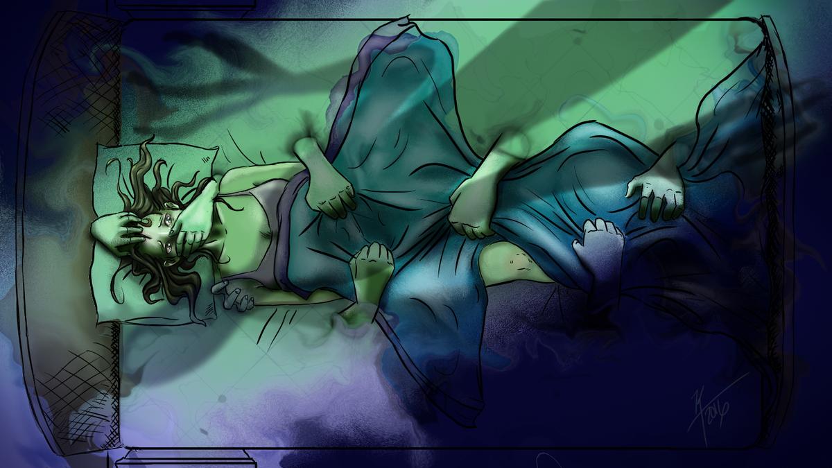 Сонный паралич или как избавиться от ночных нападений «старой ведьмы»
