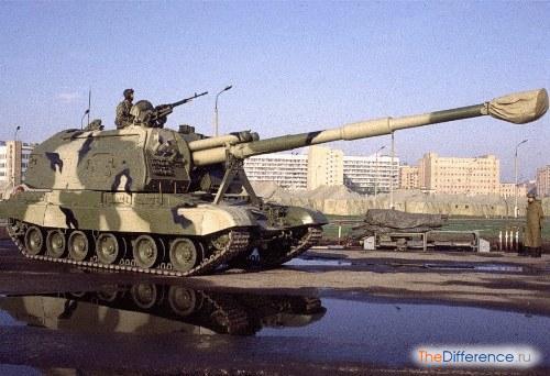 История советского оружия превентивного удара: сау «мста-с»