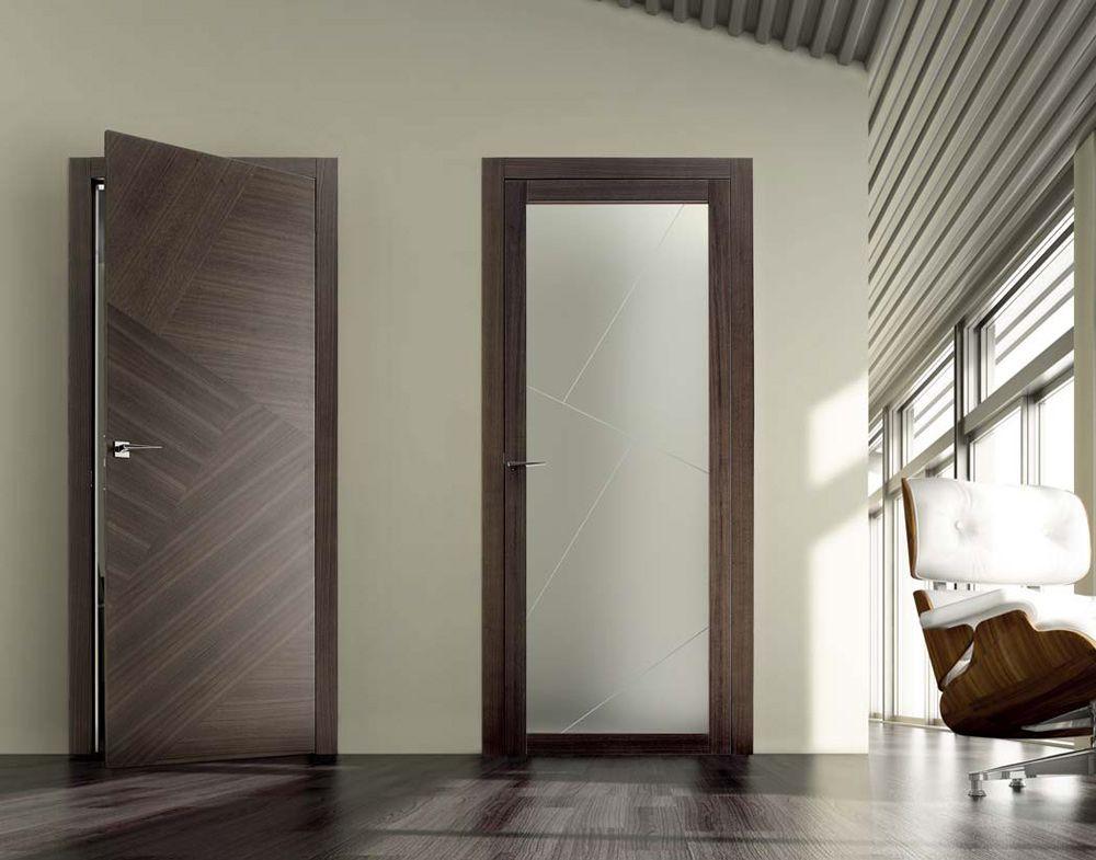 Межкомнатные двери в интерьере — 50 фото, виды, идеи. -