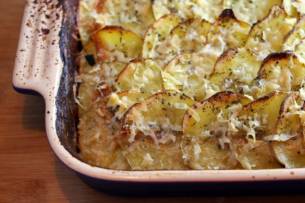 Картофельный гратан – кулинарный рецепт