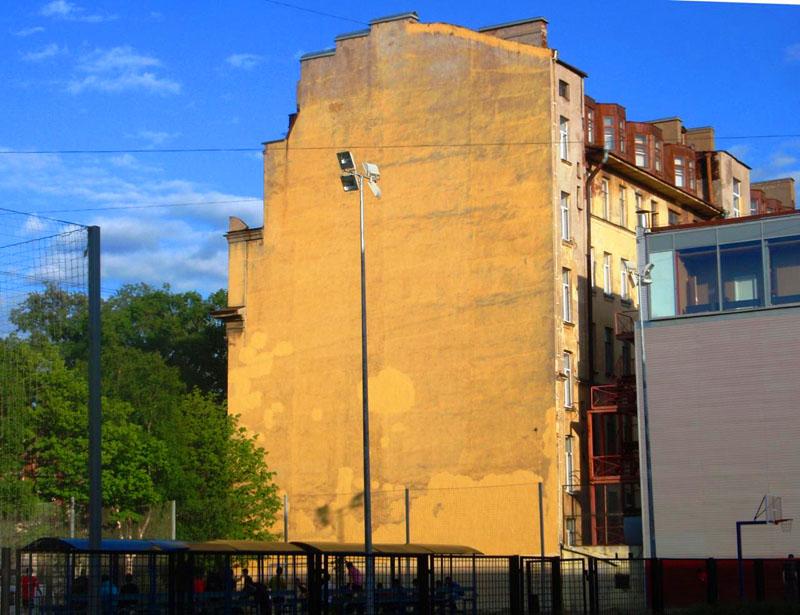Торец здания