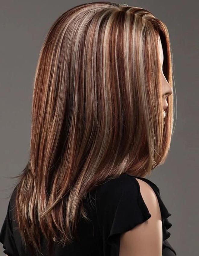 Окрашивание волос в несколько тонов: колорирование