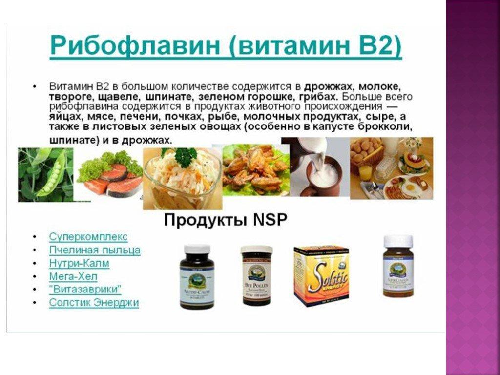 Рибофлавин (витамин b2)