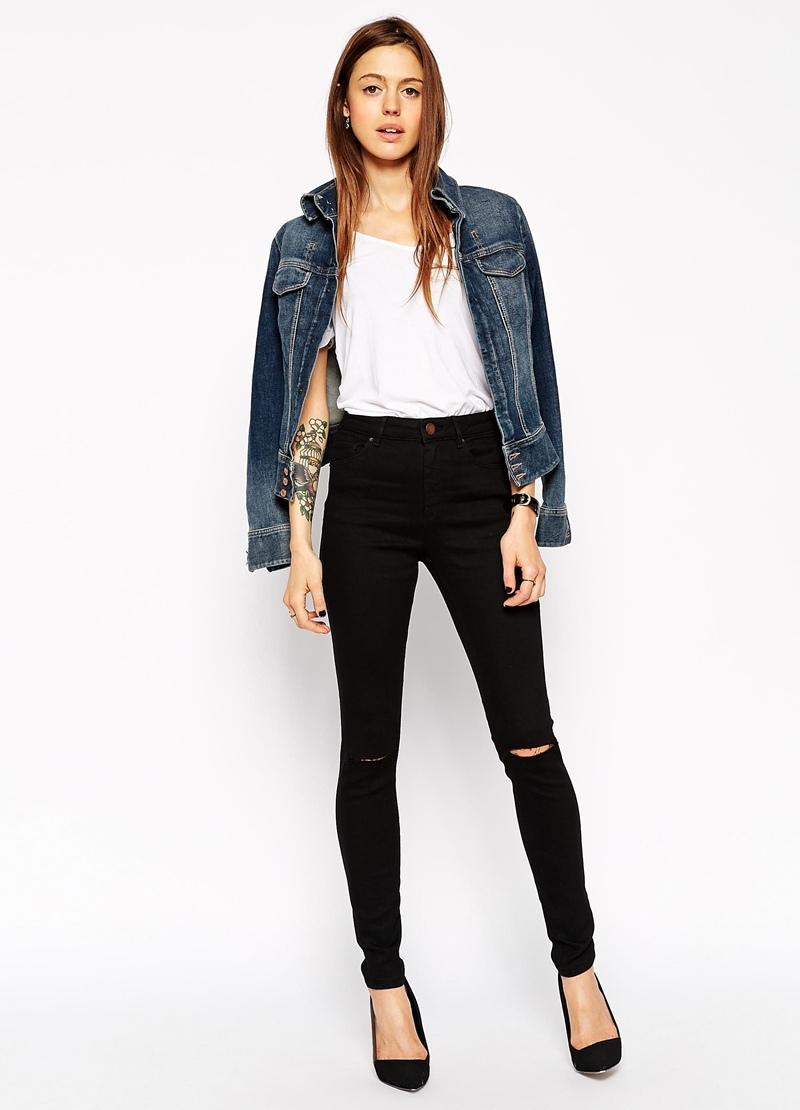 В чем разница джинс скинни и слим