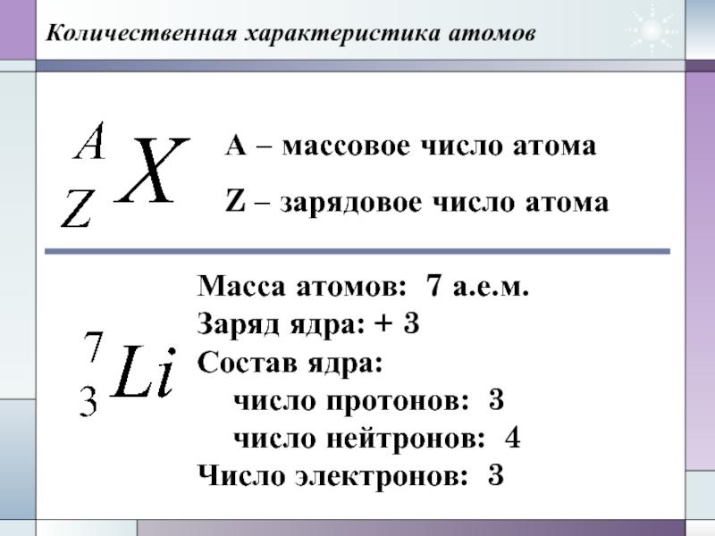 Зарядовое число википедия