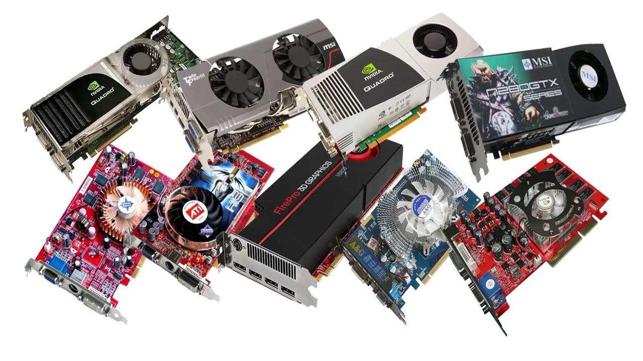 Какие бывают видеокарты и как их правильно выбирать для разных типов компьютеров, включая игровые