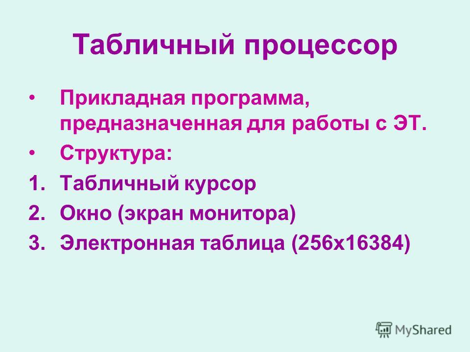 Глава 10. электронные таблицы | контент-платформа pandia.ru