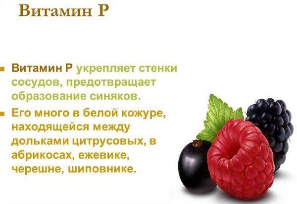 Биофлавоноиды + продукты богатые биофлавоноидами