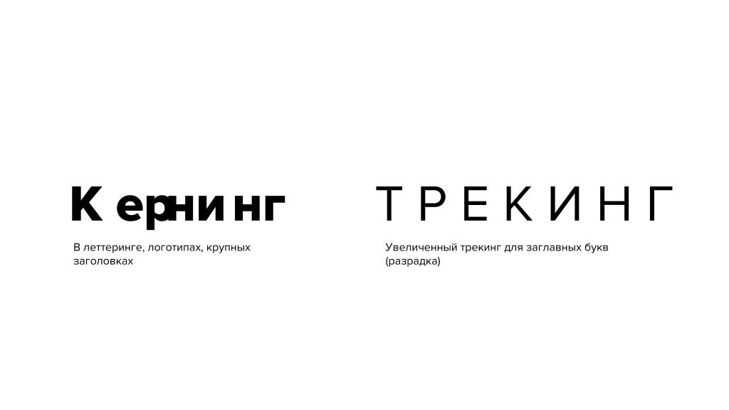 Кернинг — это великолепный элемент типографики