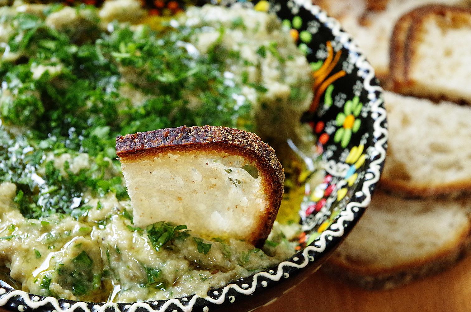 Бабагануш из баклажанов рецепт с фото пошагово - 1000.menu