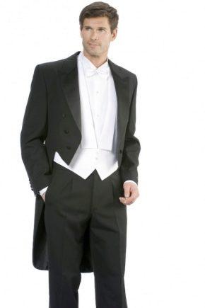 Фрак (80 фото): что такое, мужской и для мальчика для бальных танцев, фрак и смокинг отличия, платье фрак и история костюма фрак