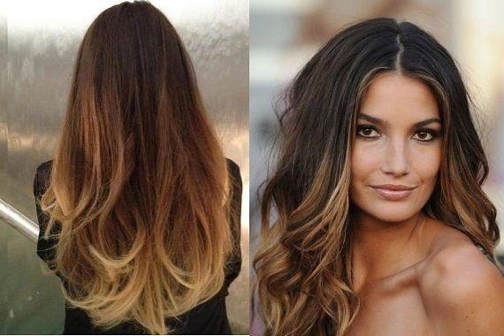 Окрашивание волос балаяж: 27 фото для вдохновения