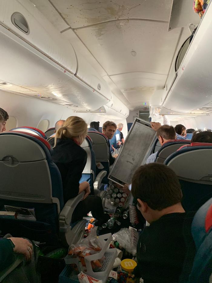 Турбулентность… почему трясёт самолёт и почему это не опасно