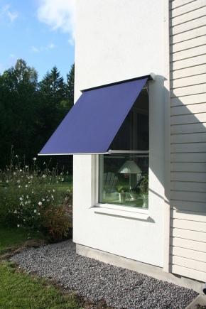 Маркизы на окна: виды оконных навесов для защиты от солнца и дождя, тканевые уличные легкие маркизы и другие варианты. что это такое?